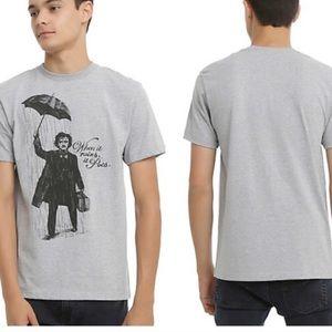 Gender Neutral Gray Poe Pun Shirt